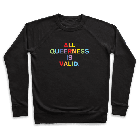 All Queerness is Valid Pullover