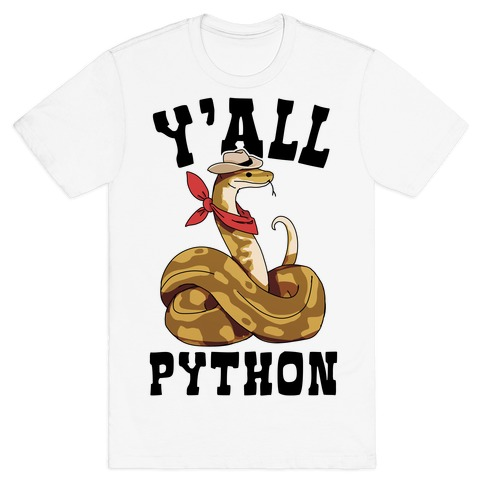 Y'all Python T-Shirt