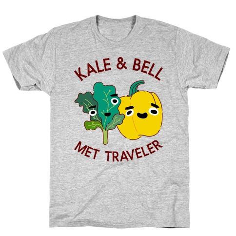 Kale and bell Met, Traveler T-Shirt