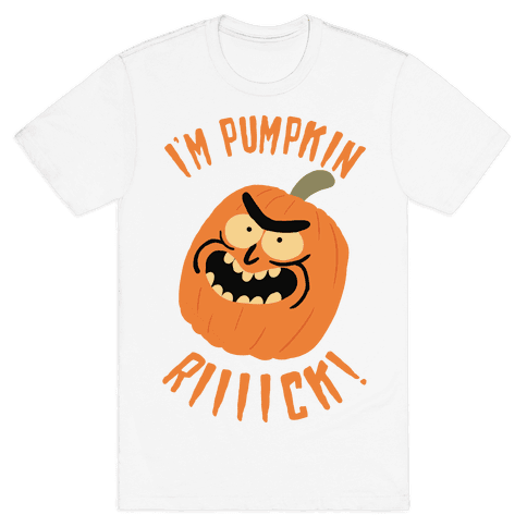 I'M PUMPKIN RICK Mens T-Shirt