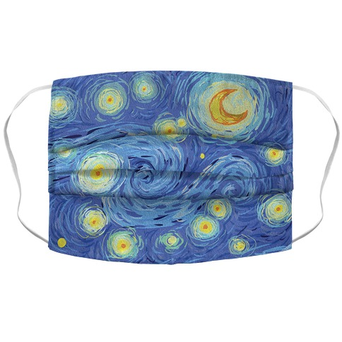 Starry Night Face Mask Cover