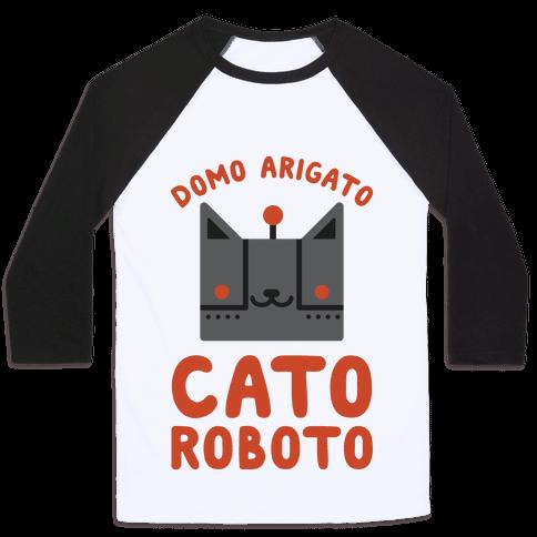 Cato Roboto Baseball Tee