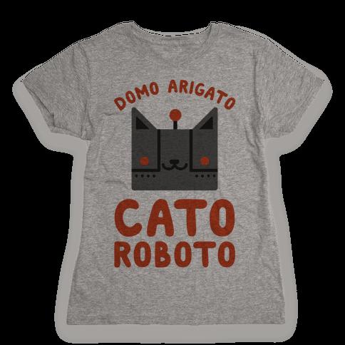 Cato Roboto Womens T-Shirt