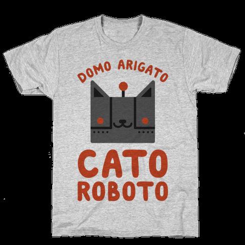 Cato Roboto Mens T-Shirt