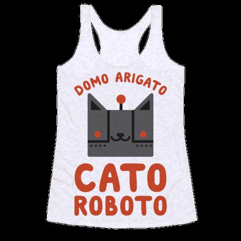 Cato Roboto Racerback Tank Top