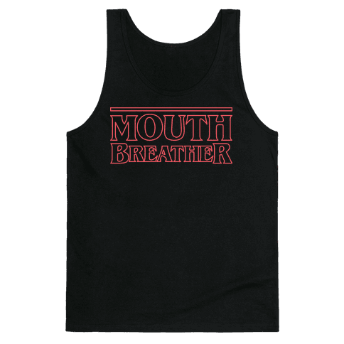 Mouth Breather Parody (Red) Tank Top