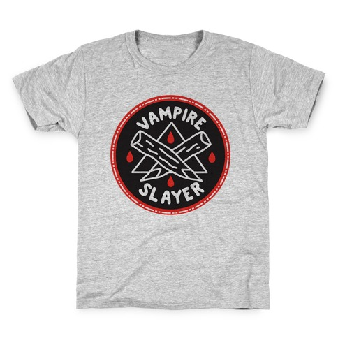 Vampire Slayer Culture Merit Badge Kids T-Shirt