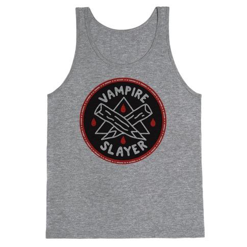 Vampire Slayer Culture Merit Badge Tank Top
