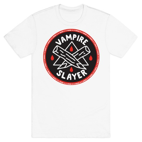 Vampire Slayer Culture Merit Badge T-Shirt