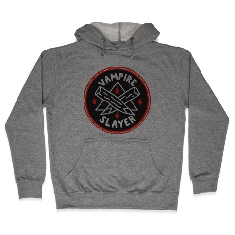 Vampire Slayer Culture Merit Badge Hooded Sweatshirt