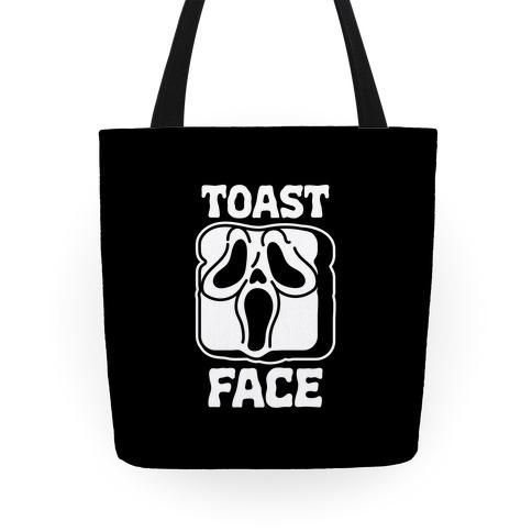 Toast Face  Tote