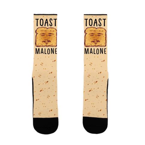 Toast Malone Sock