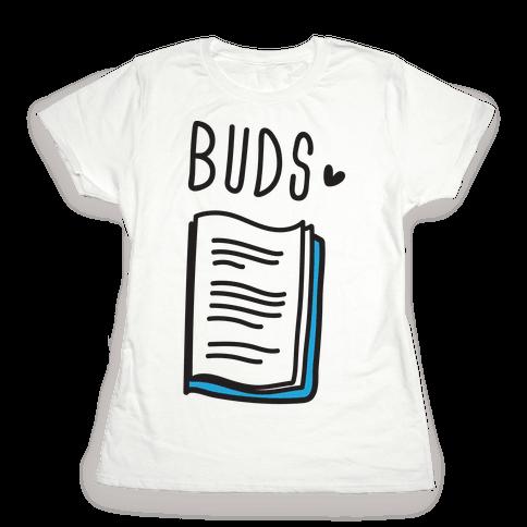 Book Buds 2 Womens T-Shirt