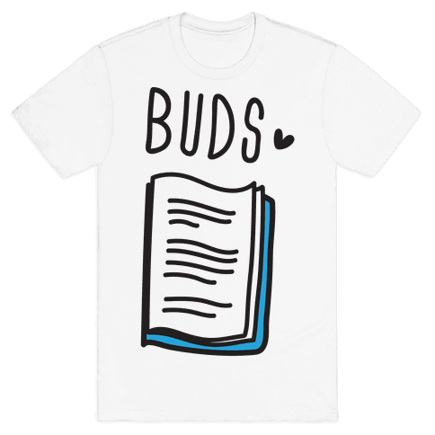 Book Buds 2 Mens T-Shirt