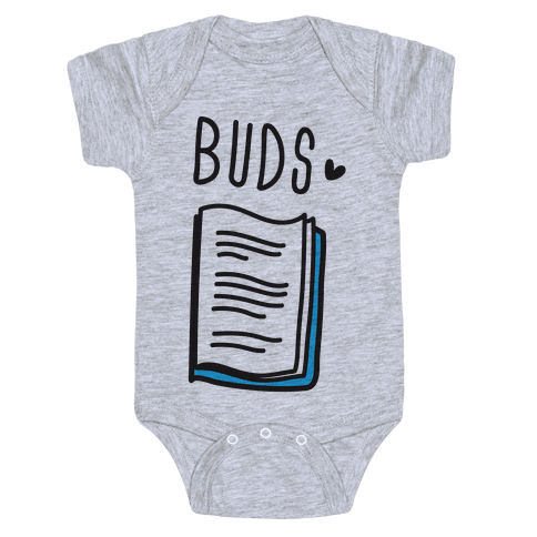 Book Buds 2 Baby Onesy