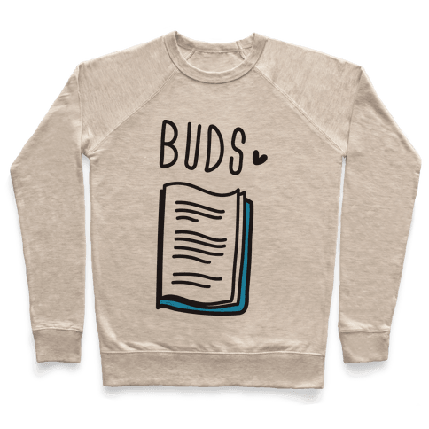 Book Buds 2 Pullover