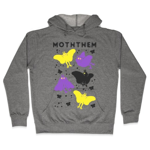 Moththem Hooded Sweatshirt