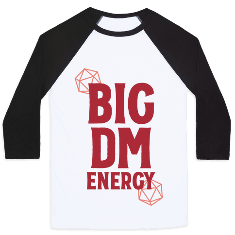 BIG DM ENERGY Baseball Tee