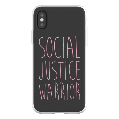 Social Justice Warrior Phone Flexi-Case