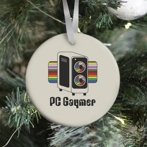 PC Gaymer Ornament