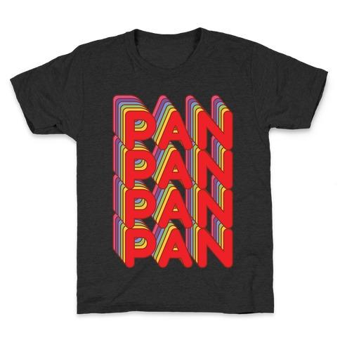 Pan Retro Rainbow Kids T-Shirt