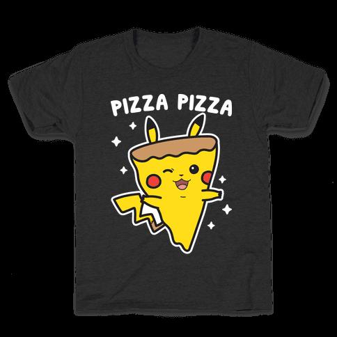 Pizza Pizza Pikachu Parody Kids T-Shirt