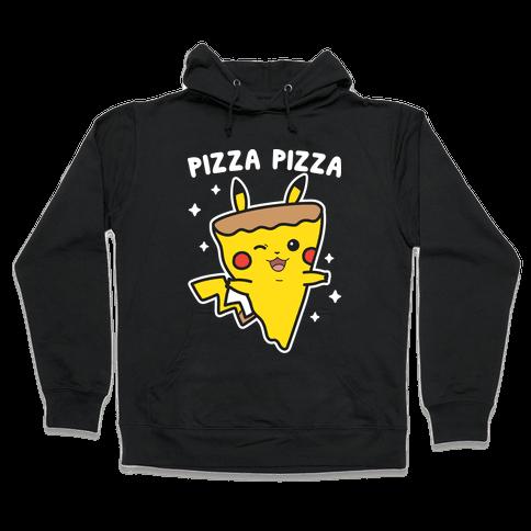 Pizza Pizza Pikachu Parody Hooded Sweatshirt