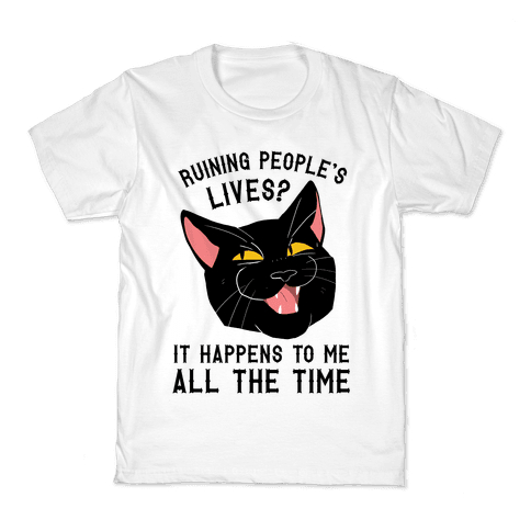 Salem Ruins People's Lives Kids T-Shirt