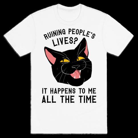 Salem Ruins People's Lives Mens T-Shirt