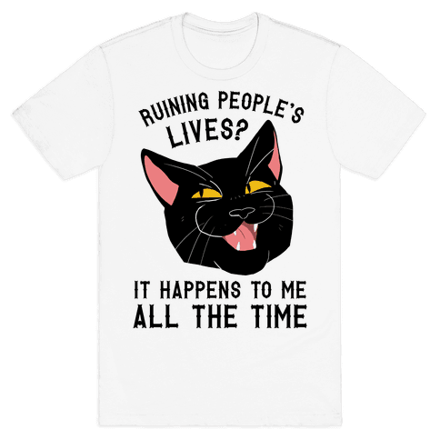 Salem Ruins People's Lives Mens T-Shirt