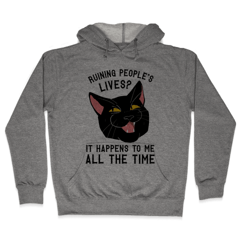 Salem Ruins People's Lives Hooded Sweatshirt