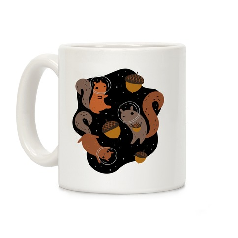Squirrels In Space Coffee Mug