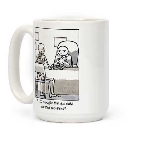 Skulled Workers Coffee Mug