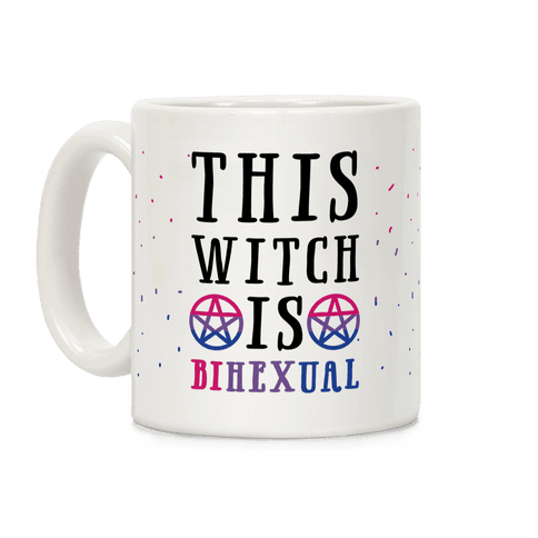This Witch Is Bihexual Coffee Mug