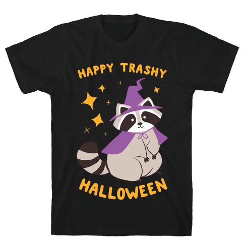 Happy Trashy Halloween Mens T-Shirt
