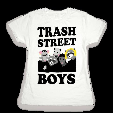 Trash Street Boys Womens T-Shirt