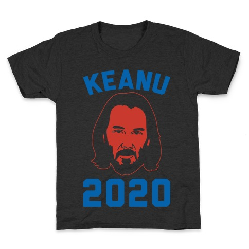 Keanu 2020 White Print Kids T-Shirt