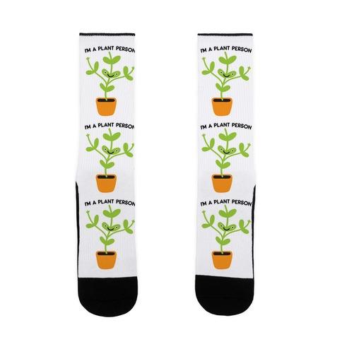 I'm A Plant Person Sock