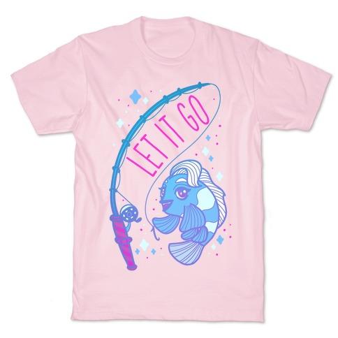 Let it Go Elsa Fish T-Shirt