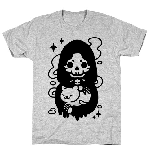 Death and Kitty T-Shirt