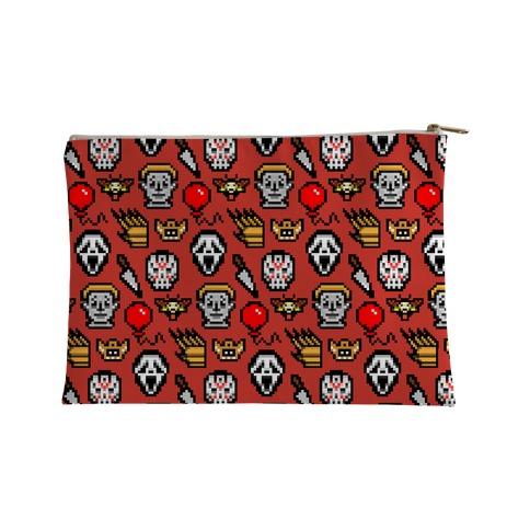 Slashers Pixel Pattern Accessory Bag