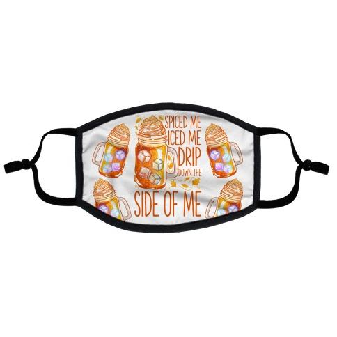 WAP Pumpkin Spice Parody Flat Face Mask
