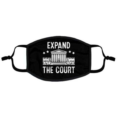 Expand The Court Flat Face Mask
