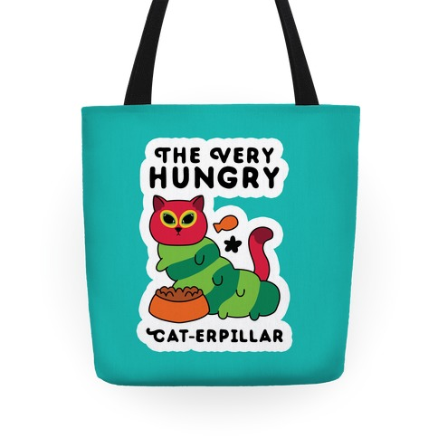 The Very Hungry Cat-erpillar Tote