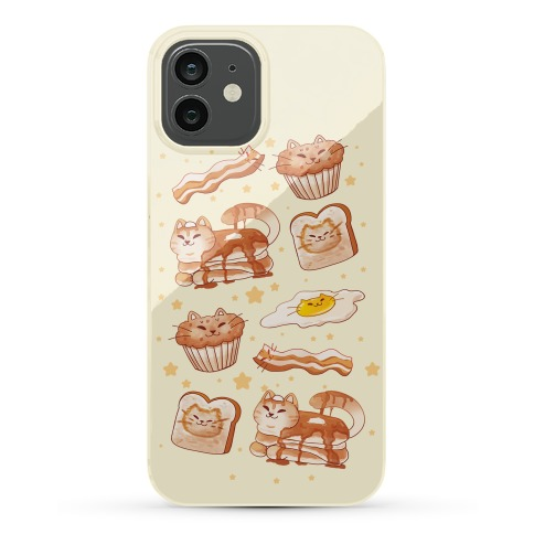Breakfast Cats Phone Case
