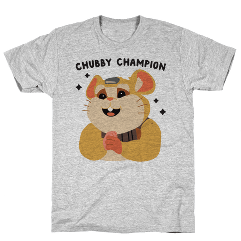 Chubby Champion Hammond  Mens T-Shirt