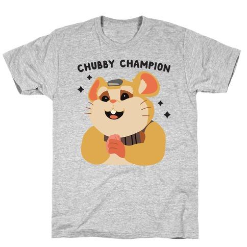 Chubby Champion Hammond  Mens T-Shirt