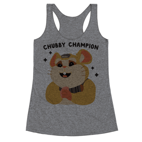 Chubby Champion Hammond  Racerback Tank Top