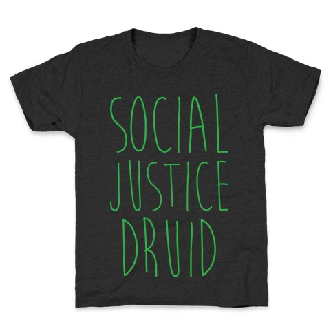 Social Justice Druid Kids T-Shirt