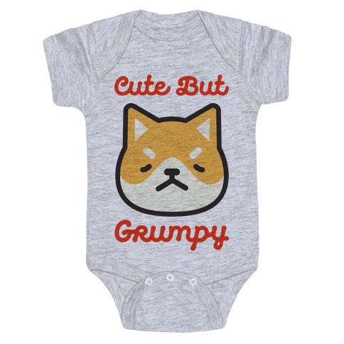 Cute But Grumpy Baby Onesy